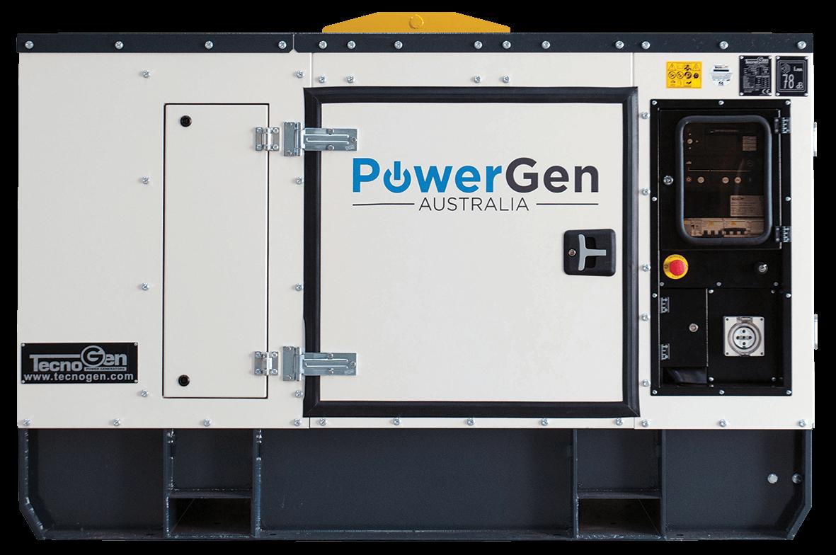 Industrial generator - Powergen