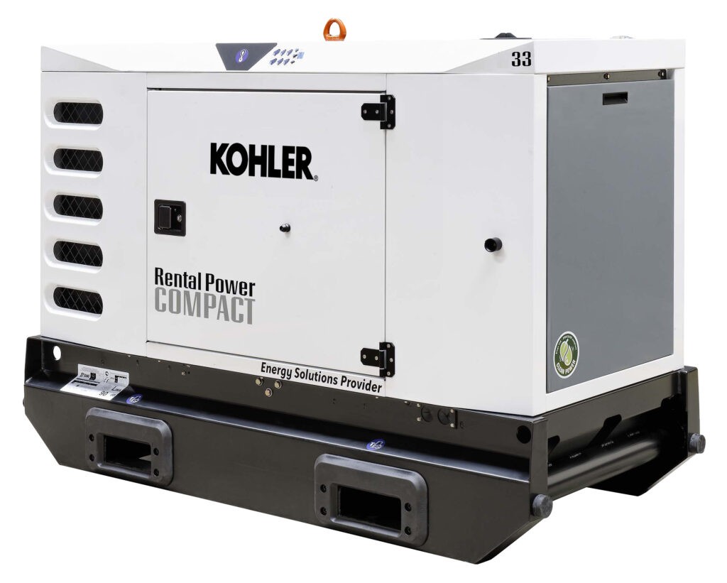 R66KC3 powergen generators for event and rental companies